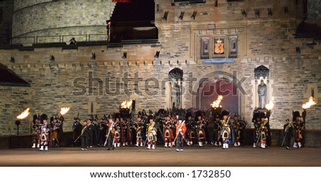 Massed Pipes and Drums at 2006 Edinburgh Military Tattoo