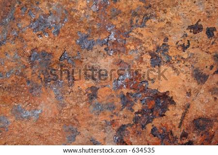 Massive rust - stock photo