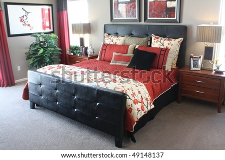 Master Bedroom - stock photo