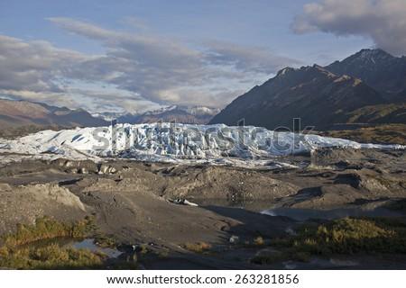 Matanuska Glacier, Alaska - stock photo