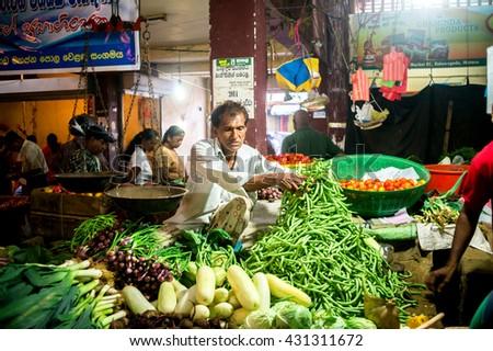 Telaviv israel january 24 street vendor stock photo for Local fish market