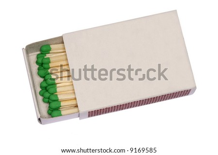 Match box - stock photo