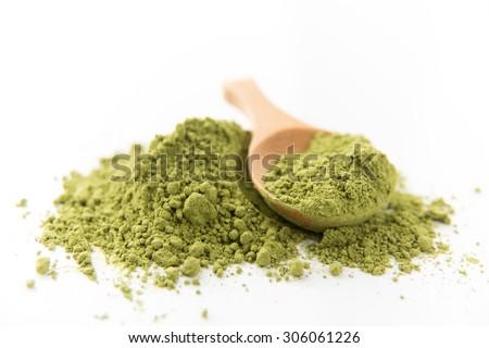 Matcha Green Tea - stock photo