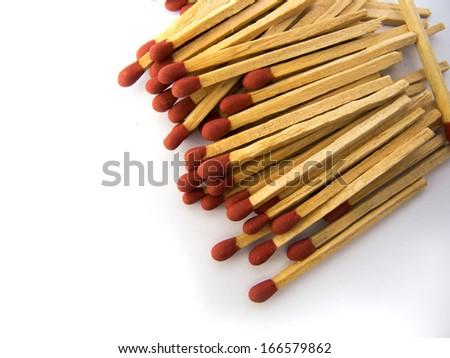 Matchstick - stock photo