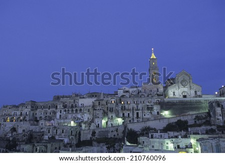 Matera In The Evening
