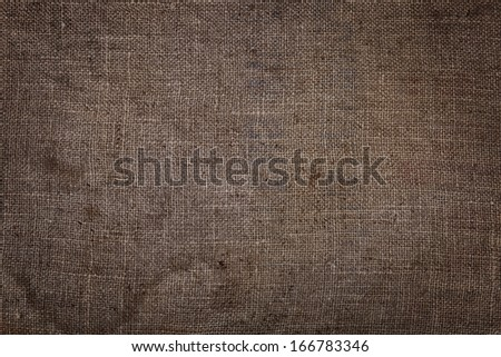 Material burlap texture abstraction. Close-up.
