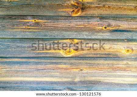 Material detail of typical ukrainian antique house, in Pirogovo near Kiev - stock photo