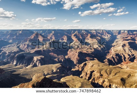 Mathew View Point - Grand Canyon, South Rim, Arizona, AZ, USA