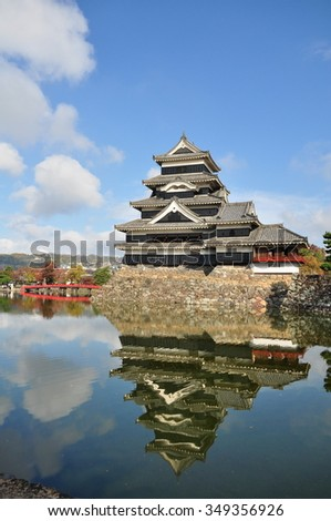 Matsumoto Castle and its Reflection