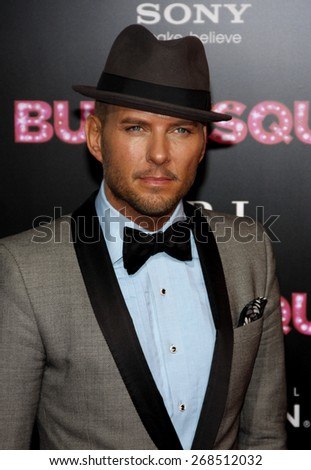 Matt Goss at the Los Angeles premiere of 'Burlesque' held at the Grauman's Chinese Theatre in Hollywood on November 15, 2010.