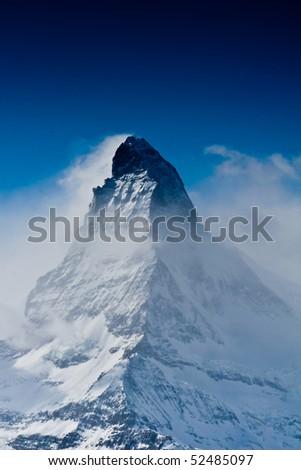 matterhorn - stock photo