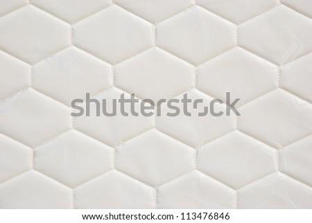 mattress pattern - stock photo