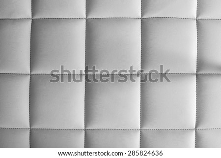 Mattress white background - stock photo