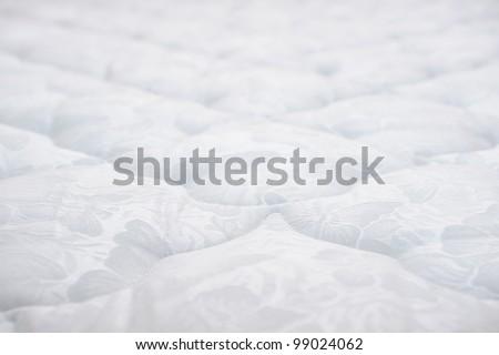 mattress with shallo DOF - stock photo