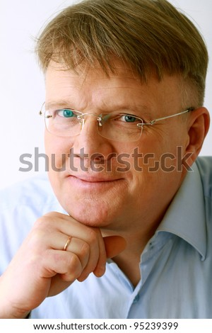 Mature business man - stock photo