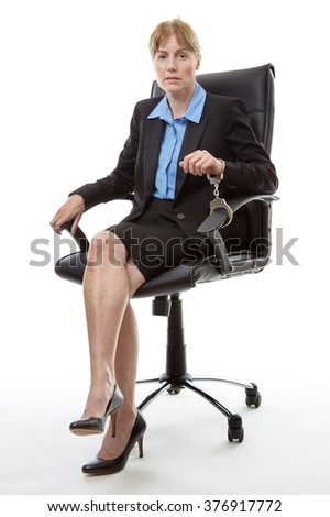 Male Office Worker Relaxes On Chair Stock Photo 92467546 ...  Male Office Wor...
