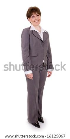 mature executive businesswoman - stock photo