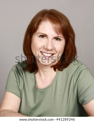mature real woman with red hair