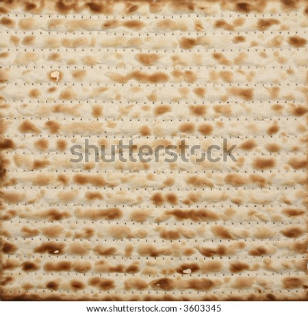 Matza background - stock photo