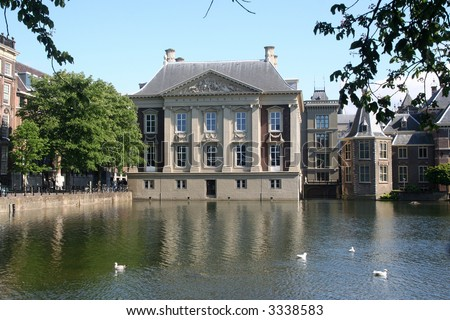 Mauritshuis Museum in The Hague