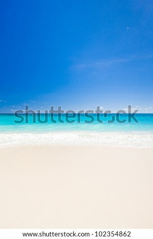 Maxwell Beach, Barbados, Caribbean - stock photo