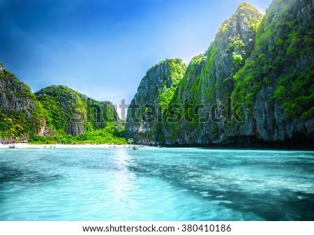 Maya Bay - stock photo