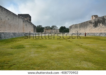 Mayan archeological site of Chichen Itza, Yucatan, Mexico.