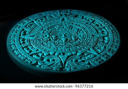 Mayan calendar. - stock photo