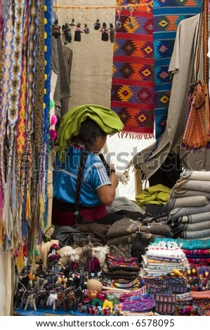 Mayan people in Chiapas Mexico - stock photo