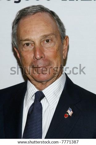 Mayor Mike Bloomberg - stock photo