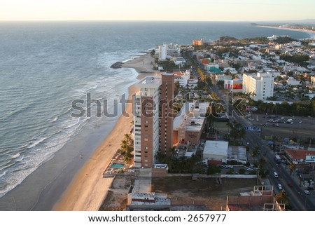 Mazatlan Coast - stock photo