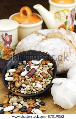 Meal ingredients. - stock photo