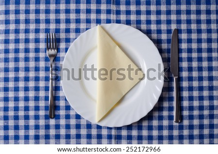 Meal setting  - stock photo