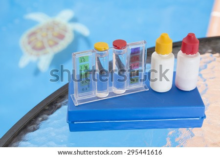 Chlorine stock photos royalty free images vectors for Pool won t show chlorine