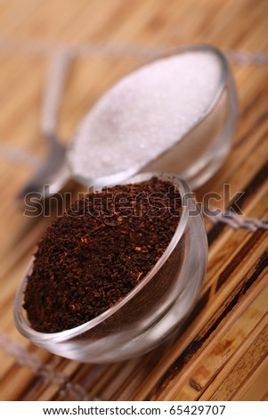 Measurements of tea and sugar