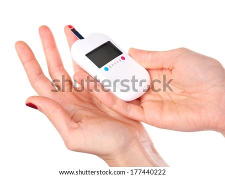 Diabetes finger poker