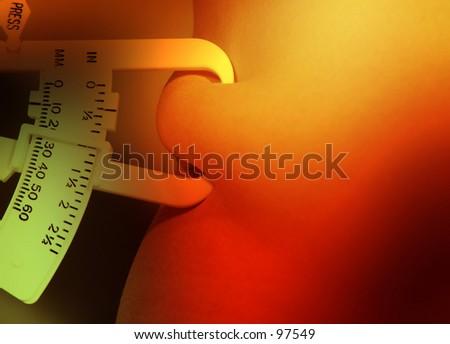Measuring One - stock photo