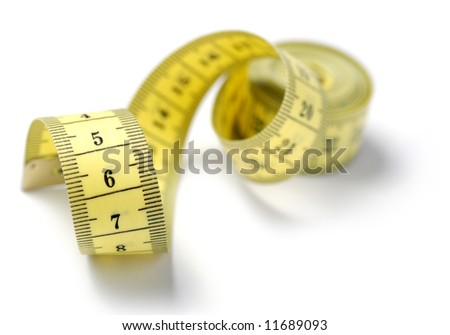 Measuring tape of the tailor