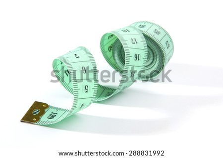 Measuring tape.
