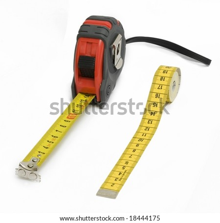 Measuring tools - stock photo