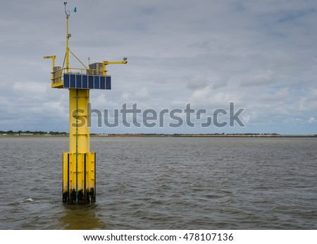 Measuring unit for wave and tidal energy