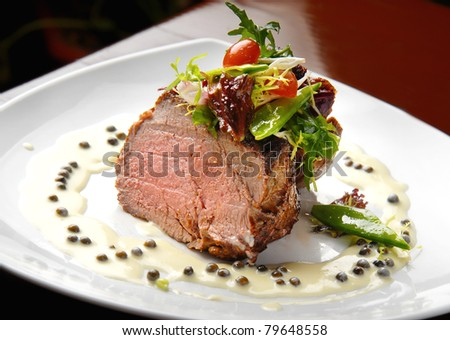 meat - stock photo