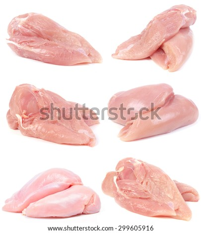 Meat chicken - stock photo