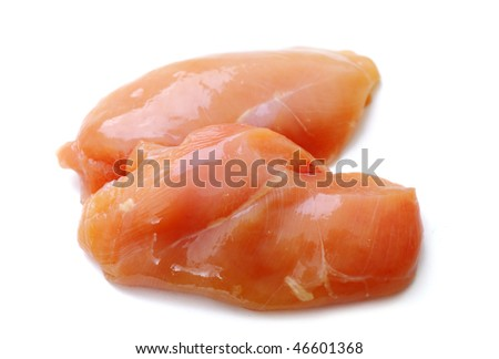 Meat isolated - stock photo