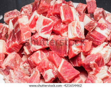 Meat Textured for background - stock photo