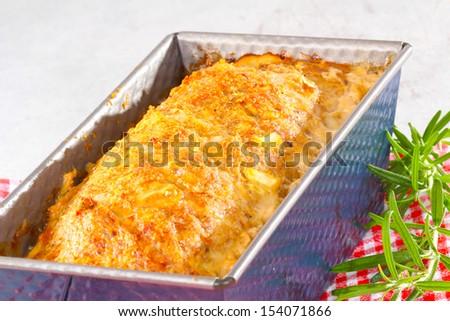 Meatloaf, False Hare - stock photo