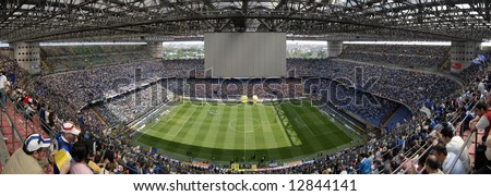 Meazza soccer stadium, Milan, Italy - stock photo