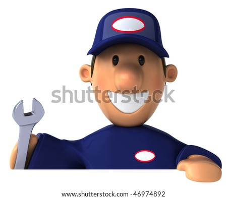 Mechanic - stock photo