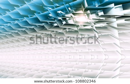 Mechanical Grill - stock photo