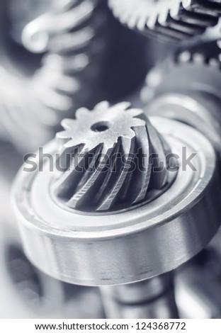Mechanical ratchets - stock photo